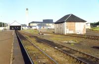 Wick before demolition of the goods shed.<br><br>[Ewan Crawford&nbsp;//1989]