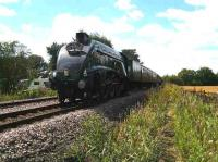 60009 with <I>The Scarborough Spa Express</I> passing Strensall shortly after leaving York on 8 August.<br><br>[John McIntyre&nbsp;8/08/2007]
