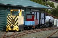 Scene on the Almond Valley Museum narrow gauge line at Livingston on 15 August.<br><br>[Bill Roberton&nbsp;15/08/2007]