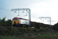 Timber from Arrochar running east from Cardross.<br><br>[Ewan Crawford&nbsp;16/08/2007]