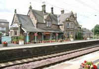 Chathill, one of the stations still open on the ECML between Edinburgh and Newcastle in 2007, albeit with one morning and one afternoon stopping train per day south.<br><br>[John Furnevel&nbsp;16/08/2007]