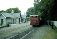 No 11 waits at Castletown in July 1996 with a service for Douglas. <br><br>[John McIntyre&nbsp;/07/1996]