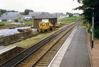 View looking north of Tain goods yard when in use as a PW depot.<br><br>[Ewan Crawford&nbsp;//1989]