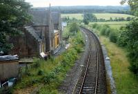 Beauly before re-opening. The opportunity to maintain the line was taken when the Ness Viaduct was being replaced.<br><br>[Ewan Crawford&nbsp;//1989]