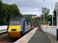 1142 HST ex Aberdeen glides south through Aberdour.<br><br>[Brian Forbes&nbsp;26/08/2007]