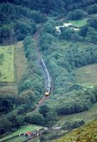 37 heading south from Arrochar and Tarbet with a paper train.<br><br>[Ewan Crawford&nbsp;//1989]