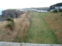 The former route of the main line looking south to Berwick in 2003. The current main line is off to the right. This deviation was made at an early date.<br><br>[Ewan Crawford&nbsp;//2003]
