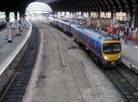 York on 16 June with 185140 forming a Scarborough - Liverpool Lime Street service running into the station.<br><br>[John McIntyre&nbsp;16/06/2007]