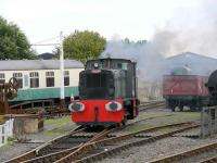 Shunting display with Rushton 0-4-0 no P6687. A Diesel!<br><br>[Brian Forbes&nbsp;02/09/2007]