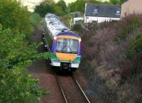 170423 in Scotrail colours passing the site of the first Newburgh station.(1848-1909)<br><br>[Brian Forbes&nbsp;03/09/2007]