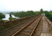 View south over the Oykel Viaduct towards Culrain on 30 August from Invershin station platform with the Kyle of Sutherland below.<br><br>[John Furnevel&nbsp;30/08/2007]