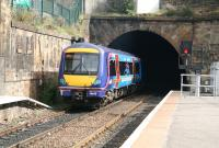 A <I>Commonwealth Games</I> set heading for Waverley disappears into Haymarket tunnel on 6 September.<br><br>[John Furnevel&nbsp;06/09/2007]