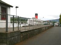 <I>Maid of the Loch</I> berthed at Balloch Pier in September 2007 alongside the remains of the former station platform.<br><br>[John Furnevel&nbsp;09/09/2007]