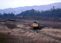 Scene in the yard at Alloa in 1985.<br><br>[Mark Dufton&nbsp;//1985]