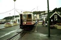 Manx Electric Railway car No 20 at the MER terminus at Douglas in July 1996 getting ready to depart on a service to Ramsey.<br><br>[John McIntyre&nbsp;/07/1996]