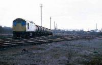 Freight in Alloa yard in 1986.<br><br>[Mark Dufton&nbsp;//1986]