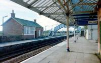 Annan in October 1997 showing the former station building on the northbound platform.<br><br>[David Panton&nbsp;/10/1997]
