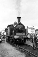 SRPS preserved locomotive 419 on display at the Eastfield open day in September 1972.<br><br>[John McIntyre&nbsp;16/9/1972]