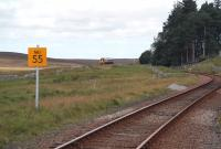 <i>Next stop Forsinard!</i> A 158 on the far north line heads for the hills on 27 August 2007, shortly after leaving Kinbrace.<br><br>[John Furnevel&nbsp;27/08/2007]