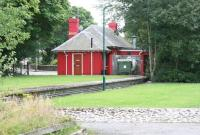 The converted terminus at Dornoch, looking south along the platform in August 2007.<br><br>[John Furnevel&nbsp;26/08/2007]