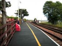 View from the eastbound platform at Balmossie on 19 September 2007.<br><br>[David Panton&nbsp;19/09/2007]