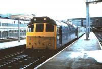 25192 waits at Carlisle in August 1985 with a train for Glasgow Central via the G&SW route. <br><br>[David Panton&nbsp;/8/1985]