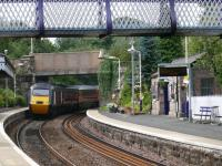 Aberdour ona Sunday afternoon. the 1141 Aberdeen / Kings Cross HST passing.<br><br>[Brian Forbes /08/2007]
