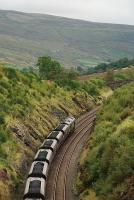 Coal from Ayr crawling up the gradient from the tunnel south of Kirkby Stephen.<br><br>[Ewan Crawford&nbsp;19/09/2007]