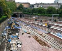 Getting there... view west from Waverley Bridge on Sunday 30 September 2007.<br><br>[John Furnevel&nbsp;30/09/2007]