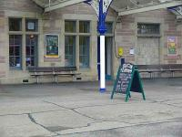 I love tea rooms on platforms, this one is at Dingwall.<br><br>[Brian Forbes&nbsp;/09/2007]