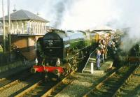 60532 <I>Blue Peter</I> at Boness in 1993.<br><br>[David Panton&nbsp;//1993]
