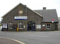 View of Thurso station from Princes Street in 2007.<br><br>[John Furnevel&nbsp;28/08/2007]