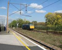 Preserved Class 86 locomotive 86101 passes Finsbury Park en route from Doncaster to Crewe on 19 October.<br><br>[Michael Gibb&nbsp;19/10/2007]