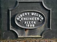 Old plate on a bridge near Port of Menteith, October 2007.<br><br>[John Furnevel&nbsp;/10/2007]