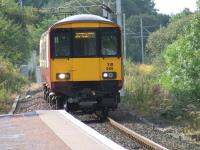 318265 approaching Whinhill with a service for Glasgow Central<br><br>[Graham Morgan&nbsp;11/09/2007]