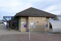 New station building on east bound platform at Elgin<br><br>[Brian Forbes&nbsp;/09/2007]
