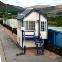The old box at Helmsdale on 27 August. View north from the footbridge.<br><br>[John Furnevel&nbsp;27/08/2007]