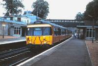 303 056 on a Dalmuir service at Cambuslang in the 1980s.<br><br>[David Panton&nbsp;//]