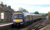 170394 at the rear of a five car set with 158703 leading, leaving Ladybank for Inverness on time at 14.26 on 1 November 2007.<br><br>[Brian Forbes&nbsp;01/11/2007]