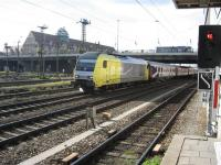 Private operator loco and stock on the approaches to Munich.<br><br>[Michael Gibb&nbsp;27/10/2007]