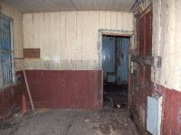 A view of the inside of Lentran station two months before demolition.The floor is rotten and has partially collapsed by the doorway.<br><br>[John Gray&nbsp;16/08/2007]