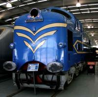 <I>The Big Yin!</I> Prototype Deltic on display at Shildon on 4 November 2007.<br><br>[John Furnevel&nbsp;04/11/2007]