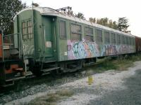 <B>Graffiti Express</B> SNCF Ille-sur-Tet Station on the Perpignan to Villefranche-sur-Conflent line. Is this the new SNCF livery?<br><br>[Alistair MacKenzie 02/11/2007]