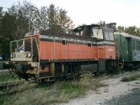 <b>SNCF 8473</b> at Ille-sur-Tet Station on the Perpignan to Villefranche-sur-Conflent line.<br><br>[Alistair MacKenzie 02/11/2007]