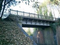 Meon Valley Line. Bridge over the B2177 at Wickham.<br><br>[Alistair MacKenzie 09/11/2007]