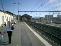Perpignan Dali Station with the new <b>TGV</b> station being constructed alongside.<br><br>[Alistair MacKenzie&nbsp;17/10/2007]