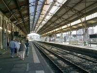 <b>Perpignan</B. Dali Station. A new <i>TGV</i> station is being constructed alongside.<br><br>[Alistair MacKenzie&nbsp;17/10/2007]