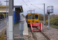 Tyne and Wear Metro train at the South Hylton terminus on 18 November.<br><br>[Bill Roberton&nbsp;18/11/2007]