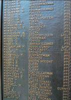 The NB Roll of Honour at Waverley on 17 November. Interesting to contrast todays moves towards more general-purpose, flexible job titles with the functionally descriptive approach reflected here. Some 35 individuals on this extract carry 23 different specific job titles, (including the sinister sounding <I>striker</I>).<br><br>[Ewan Crawford&nbsp;17/11/2007]