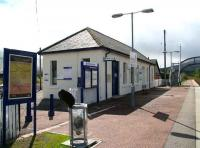 The up platform building at Dalwhinnie in August 2007. <br><br>[John Furnevel&nbsp;25/08/2007]